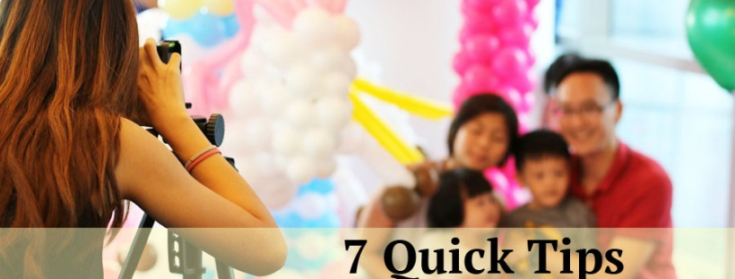 7 Quick Tips For Children Birthday Party Photography Bouncing Box